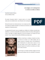 Gonzalez Calderon Martinez Castro Arte Antiguo y Arte Contemporaneo La Estetica Necrofilica en Mexico