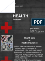 Health Care in the US