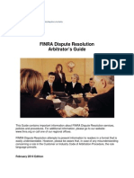 FINRA Dispute Resolution Guide