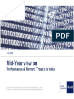 Mid-Year View on Performance Reward Trends