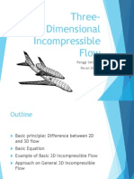 Three-Dimensional Incompressible Flow