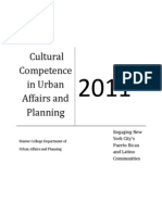 Cultural Competence in Urban Planning 09.30.11