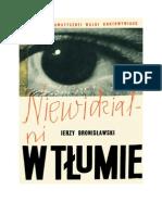Bronisławski, Jerzy - Niewidzialni w tłumie – 1968 (zorg)
