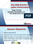 Wait Events DatabaseSpecialists