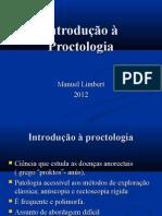 Introdução à Proctologia 2013