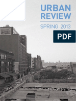Urban Review - Spring 2013
