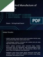 Desaign And Manufacture of Insulators