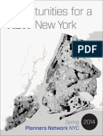 Opportunities for a New New York (Spring 2014)