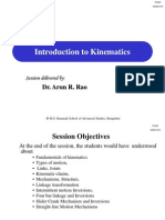 Session 1 Introduction to Kinematics