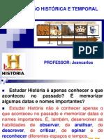 ORGANIZAÇÃO HISTÓRICA E TEMPORAL .ppt