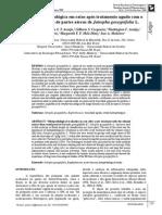 Avaliação histopatológica em ratos após tratamento agudo com o extrato etanólico de partes aéreas de Jatropha gossypiifolia L