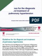 Hipertensión pulmonar, guía