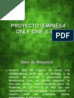 Presentacion de Emprendedor