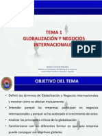 Tema 1 Hurtado, A. (2014) Globalización y negocios internacionales