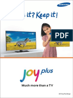 Joy Plus Brochure