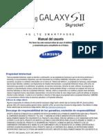 ATT i727 Galaxy S II Skyrocket Spanish User Manual LF5 F3