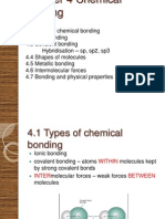 A Level Chemistry Chapter 4 Chemical Bonding