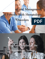 Assessment and Management of Patients With Hematologic Disorders