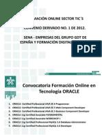 Convocatoria Cursos Online ORACLE Vf
