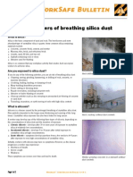 WorkSafe Ws_09_04 the Dangers of Breathing Silica Dust