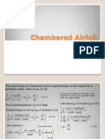 Chambered Airfoil