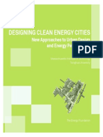 Designing Clean Energy Cities MIT