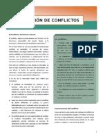 Gestión de Conflictos