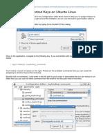 Assign Custom Shortcut Keys on Ubuntu Linux