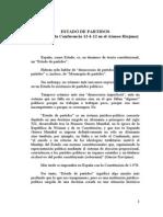Conferencia de Ramón Alegre 12-6-12 Estado de partidos