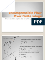 Incompressible Flow over Finite Wings II