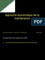 Approche Economique de La Maintenance (1)