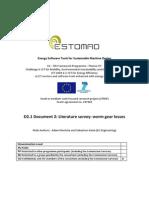 D2_1 Document 2 Literature Survey Worm Gear