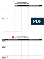 SBQ Analysis Table