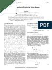 Propagation of Vectorial Laser Beams