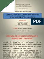 Gerencia de Recursos Materiales