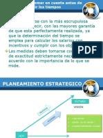 Planeamiento y  comunicación blog INEN5