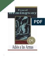 Hemingway Ernest - Adios a Las Armas