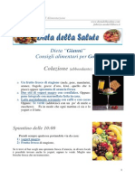 Dieta Gianni Gotta
