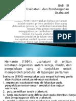 Bab 3 Pertanian Usahatani Dan Pembangunan Usahatani
