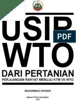Booklet SPI Usir WTO Dari Pertanian