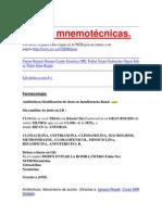 Reglas mnemotécnicas