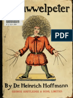struwwelpeter by heinrich hoffmann in English