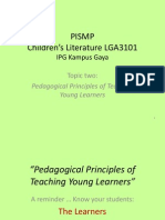 Child Lit 2 PISMP - Pedagogical Principles of Teaching Young Learners