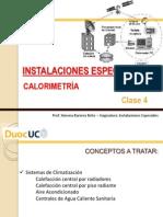 Instalaciones Especiales Clase 4