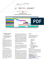 Traineeship Programme Information Brochure (Germany)