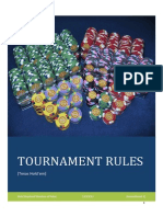 Tournament Rules