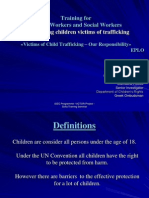Child Trafficking Sofia- EPLO