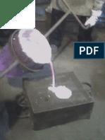 Informe de laboratorio de fundición-moldeo y colada