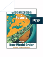 Michel Chossudovsky the Globalization of Poverty AndNew World Order