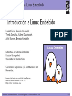 Introduccion Linux Embebido